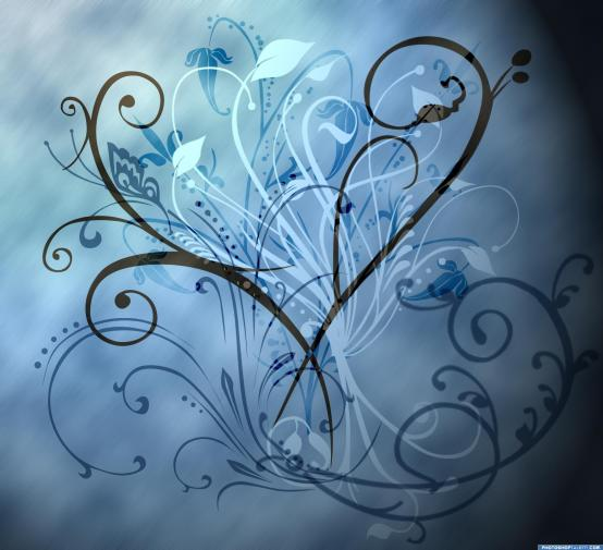 blue-flower-background